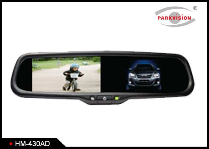 16 : 9 Aspect Ratio Rear View Mirror Monitor With TFT LCD Color Monitor